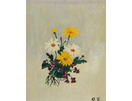 Картина маслом Полевые цветы G. S