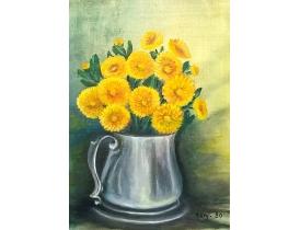 Картина маслом Полевые цветы Mary 1980