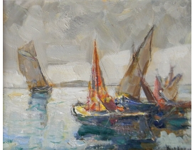 Õlimaal purjekad Knut Norrman