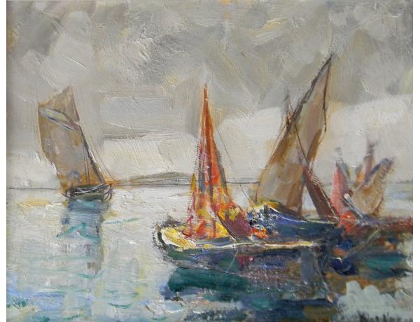 Õlimaal purjekad Knut Norrman, AM1429