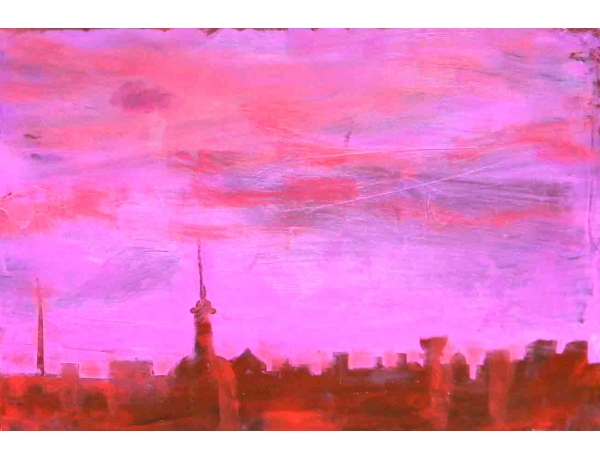 Картина Stadstak 05, AM1087