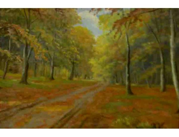 Картина Осень B. Via, AM1083