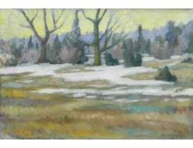 Картина Осень O.Raberg 1959