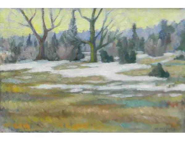 Картина Осень O.Raberg 1959, AM1052