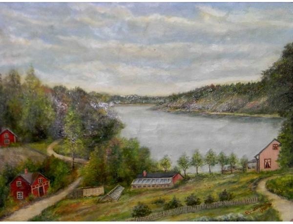 Õlimaal Talu mäenõlval ja järve kaldal, AM0666