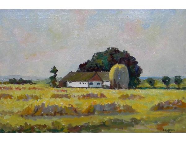 Картина Хутор в поле, AM0562
