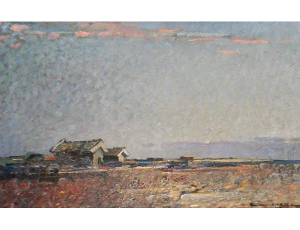 Картина маслом Хутор в поле Stig Jonsson, AM1283
