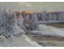 Õlimaal Talvine loodus