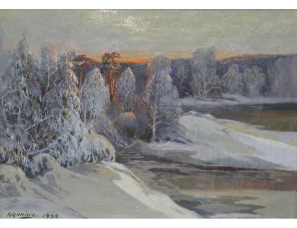 Õlimaal Talvine loodus, AM0532