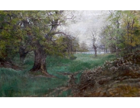 Картина Дубовый лес