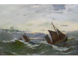 Картина маслом Шторм