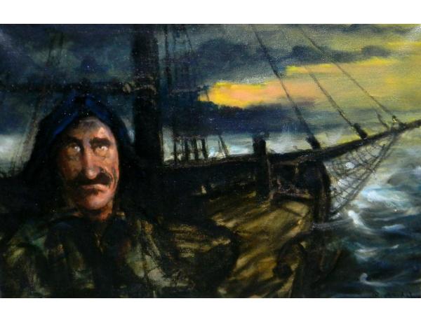 Картина маслом Шторм Rick Arndal, AM1376