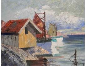 Картина Старый порт