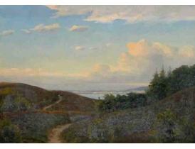 Картина Старая дорога между гор