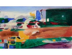 Õlimaal Värviline abstrakt