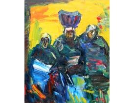 Картина маслом Восточный народ