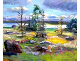 Картина Olle Almgreen 1957