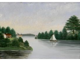 Õlimal Purjekas jõel 1902 aasta