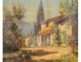 Картина Романтичное поместье