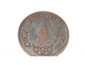 Олимпийская медаль TALLINN 80 STAR