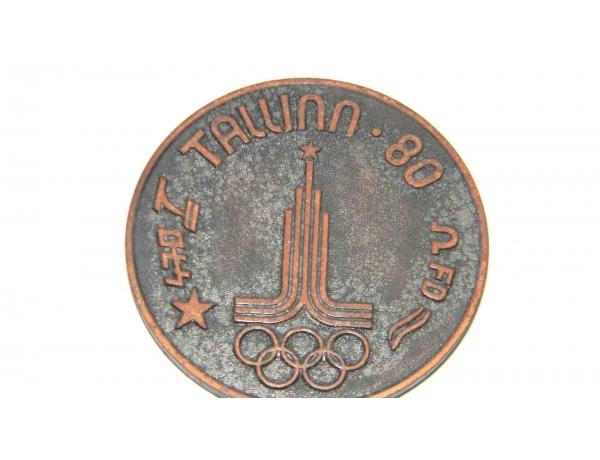 Olümpia medal TALLINN 80 STAR, AM1236