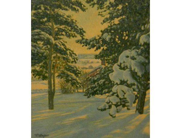 Картинка Декабрь в лесу, AM0551