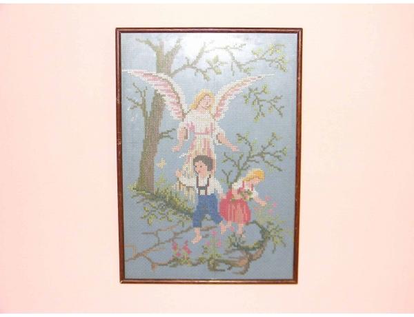 Картинка Ангел и дети, AM0451