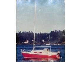 Картинка Яхта на озере