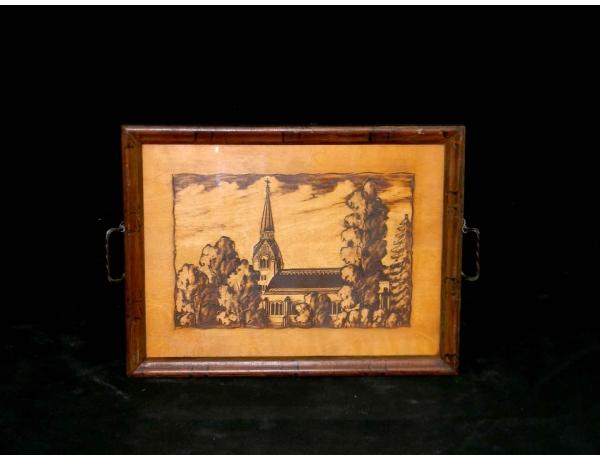 Картинка поднос из дерева, AM0223