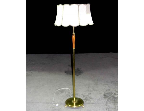 Торшер со светлым абажуром, AM0382
