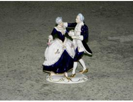 Portselanist kuju Tantsiv paar Royal Dux