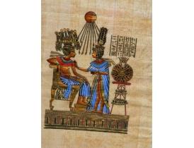 Папирус в рамке и под стеклом