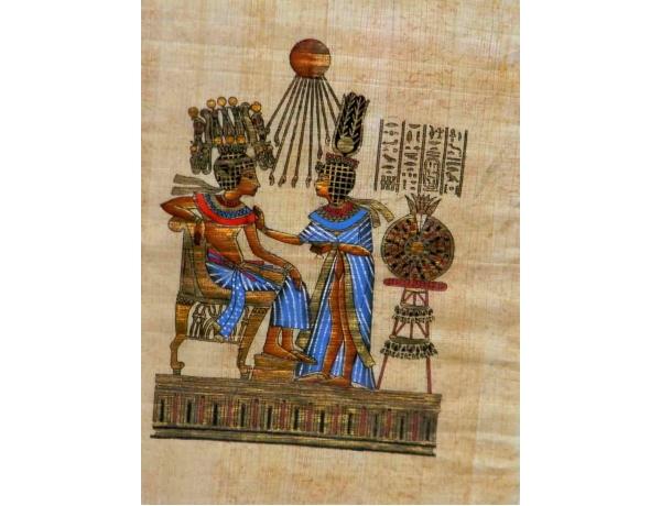 Папирус в рамке и под стеклом, AM1150