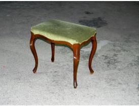 Пуф с сиденьем зеленого цвета