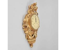 Настенные часы золотые