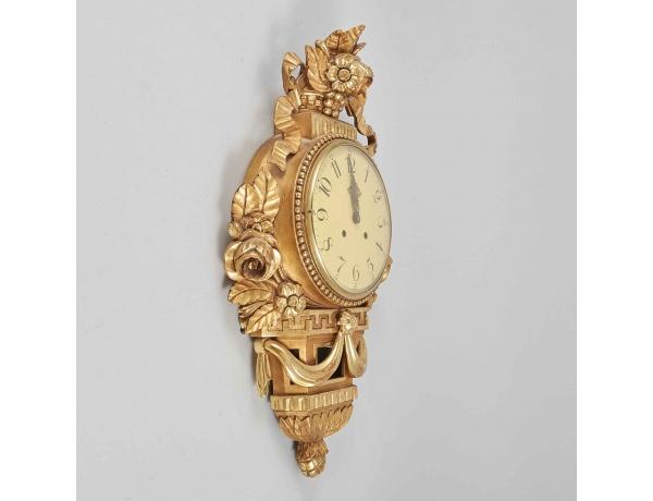 Настенные часы золотые, AM0155