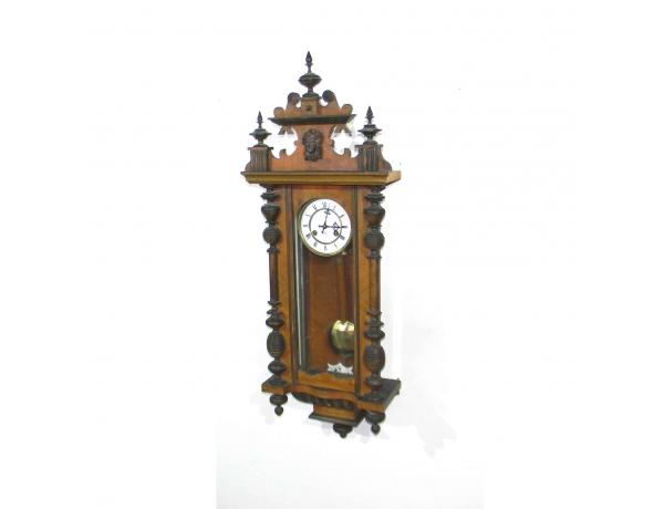 Настенные часы из орешника, AM0431