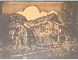 Настенная картина Старая мельница