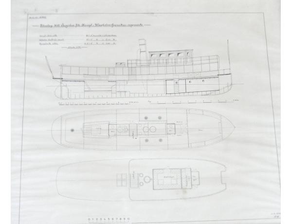 Seinapilt Laeva joonis, AM1365