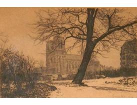 Рисунок Около замка