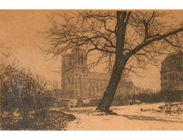 Рисунок Около замка, AM1345