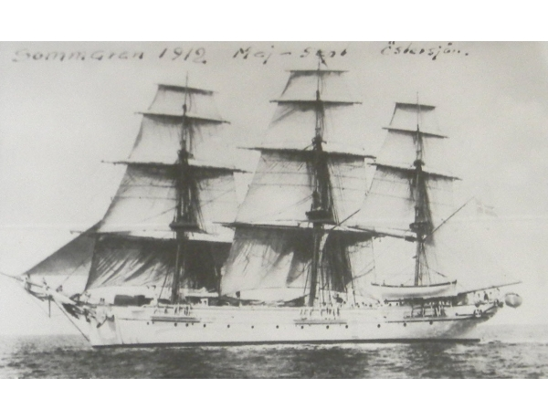 Настенная картина Парусник 1912, AM1358