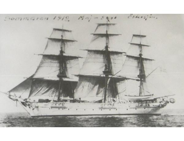 Seinapilt Purjekas 1912, AM1358