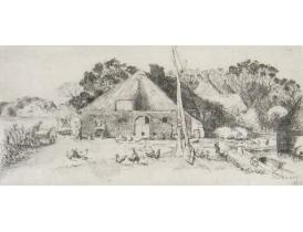 Настенная картина Хутор AE Kener 1920