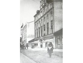 Настенная картина На улице начала пронлого столетия