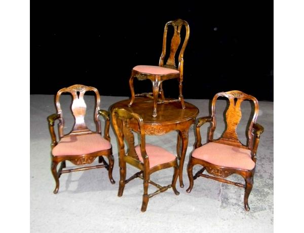 Söögilaud koos nelja tooliga, AM0786