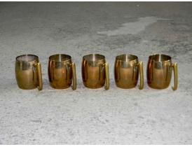 Кружки из латуни