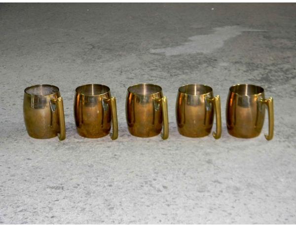 Кружки из латуни, AM0758