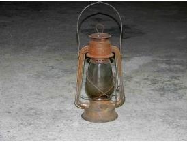 Керосиновая лампа из жести