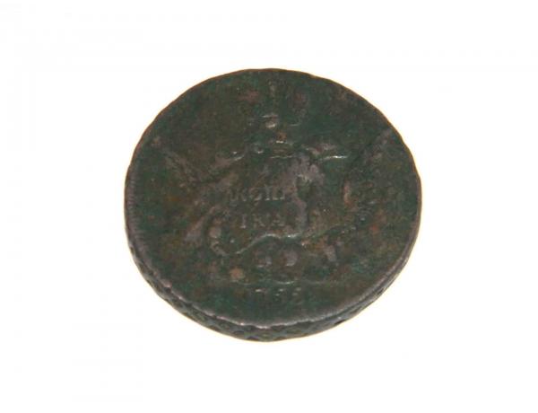 Одна копейка 1755 года, AM1225